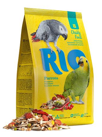 Корм Рио для крупных попугаев